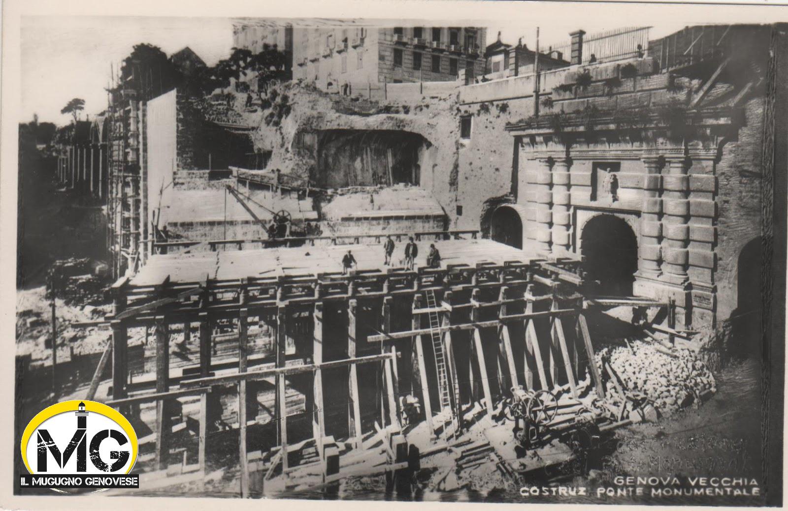 62 Ponte Monumentale in costruzione by Mangini