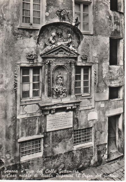 12 Vico del colle Gattamora casa natale di N.Paganini by AGEP