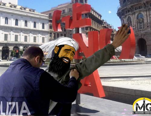 Genovese arrestato per terrorismo: grida agli amici: Anemmu au bar!