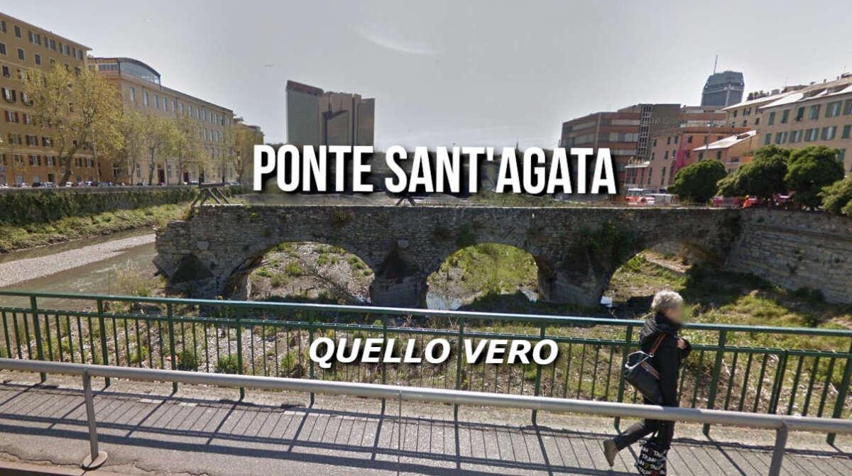 Ponte Sant'Agata, di Genova