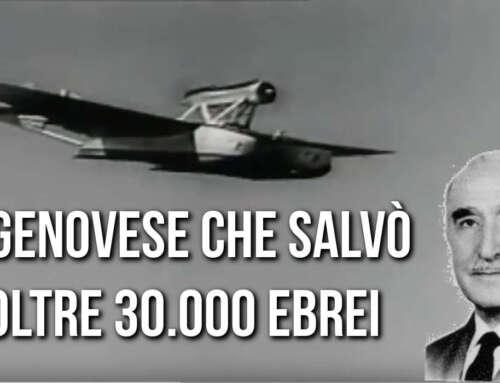 Massimo Teglio, l'aviatore Genovese che salvò 30000 ebrei