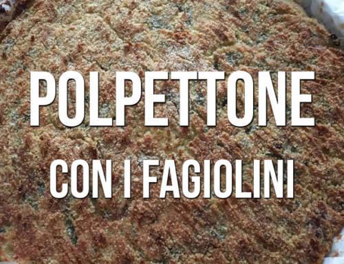 Polpettone con i fagiolini | Ricette Zeneixi