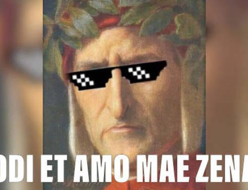 """Odi et amo, mæ Zena"""