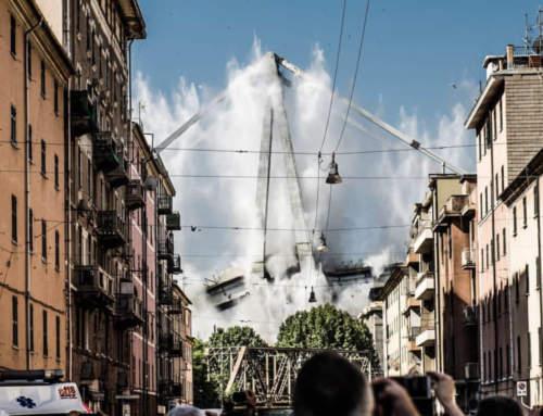 La demolizione del Morandi vista dagli occhi di noi zeneixi! 🏴