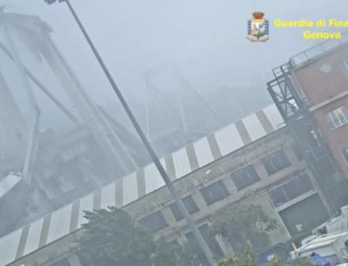Il video inedito del crollo del Ponte Morandi – 14 agosto 2018