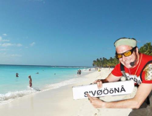 Avete mai sentito dell'isola SAvONA nei Caraibi? 😏