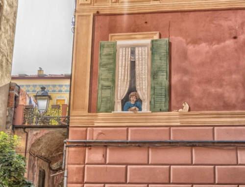 Perché in liguria ci sono le finestre dipinte? LA TAPULLATA DEL SECOLO