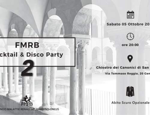 Cocktail & Disco Party per il fondo malattie renali del bambino!