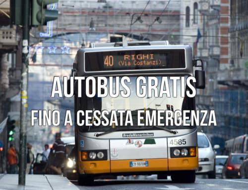 AUTOBUS GRATIS FINO A CESSATA EMERGENZA