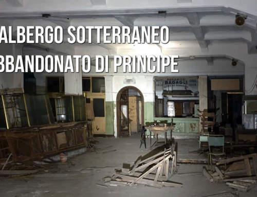 Il sotterraneo (abbandonatissimo) albergo Diurno!