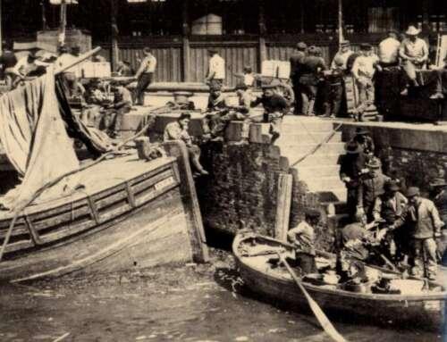 """i Cadrai antico mestiere scomparso! il """"delivery"""" portuale del 1900!"""