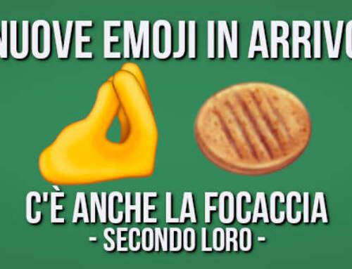 Arriva l'emoji della FOCACCIA (ma non lo sembra tanto 🤔)