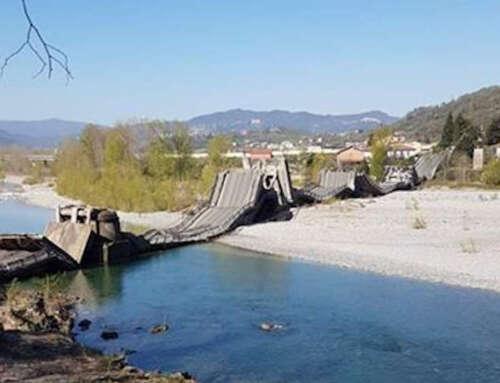 CROLLA PONTE al confine con la Toscana 😔⚠️