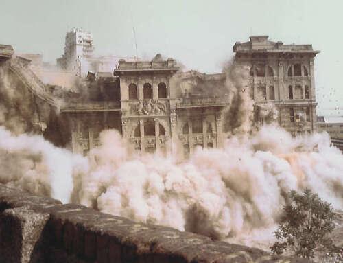 La pirotecnica distruzione della Caserma dei Vigili del fuoco (Video – 1992)