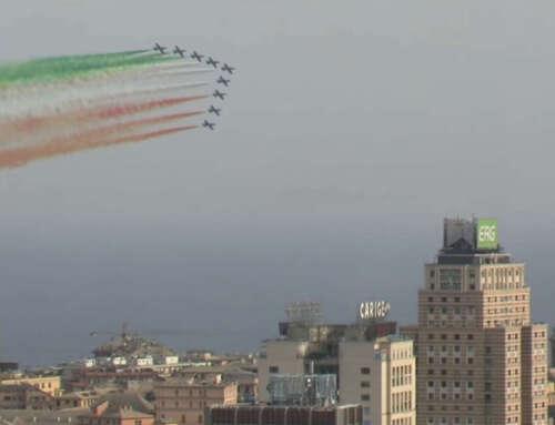 🛩 Tornano le Frecce Tricolori a Genova! 🏴🇮🇹