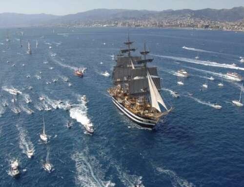"""La """"nave più bella al mondo"""" – Il Vespucci 🇮🇹😍"""