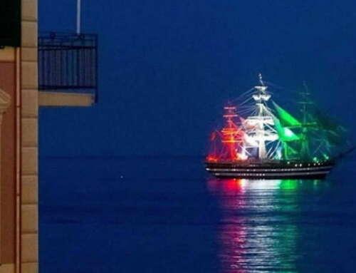 """Buon compleanno Vespucci – """"la nave più bella al mondo"""" 🇮🇹😍"""