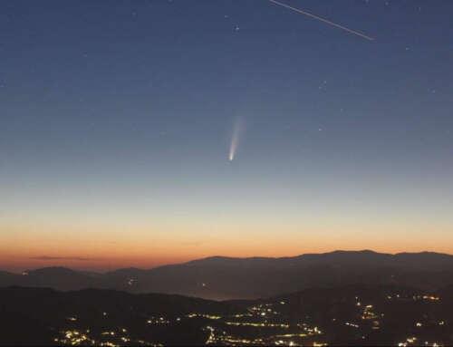 Una cometa sopra la Liguria! ☄️ 🏴 Come e quando vederla! 😏