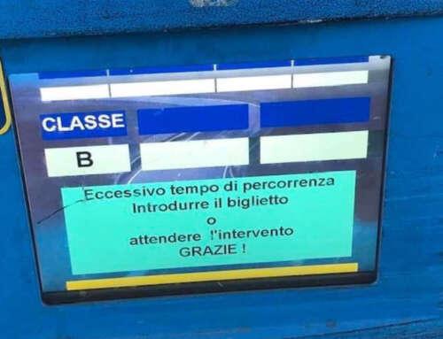 La sbarra non si alza: ECCESSIVO TEMPO DI PERCORRENZA! 😂😍