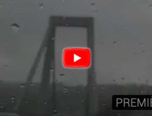 Le condizioni sul Morandi 7 minuti prima del crollo… [VIDEO]