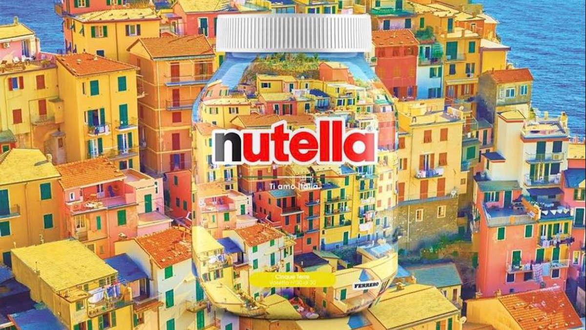 Barattolo di Nutella, Cinque Terre