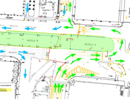 Modifiche viabilita da DOMANI zona Via Brigate / Cantiere sul Bisagno