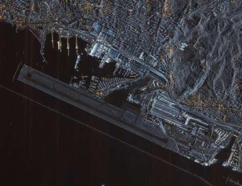 Le prime immagini dal nuovo satellite? Belin una scattala a Genova, tanto per…