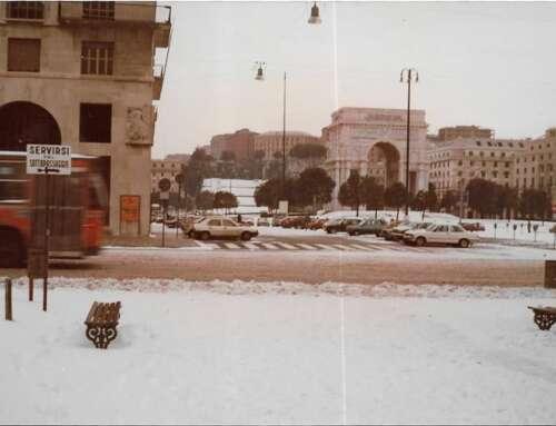 13-14 Gennaio 1985, la nevicata storica a Genova!