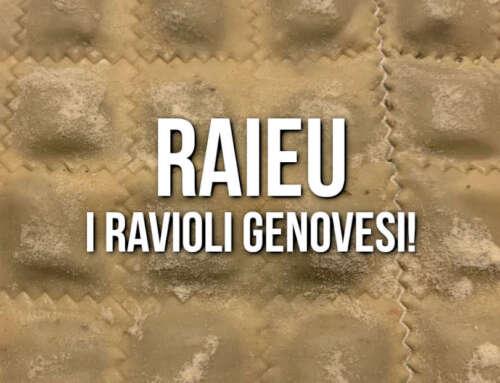 I RAIEU! 😍🏴 La ricetta per i Ravioli Genovesi!