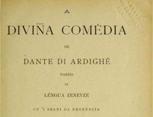 La Divina Commedia in Genovese 🏴 [INTEGRALE e GRATIS]