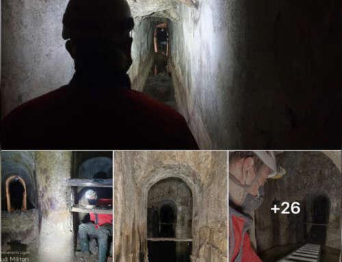 Scoperta una nuova galleria dell'acquedotto storico a Genova! [FOTO]