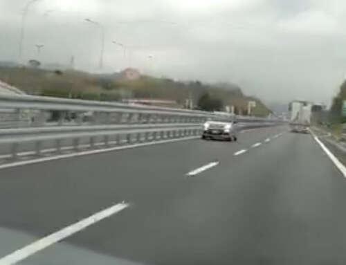 Autostrade: aggiunta una corsia per chi vuole percorrerle contromano