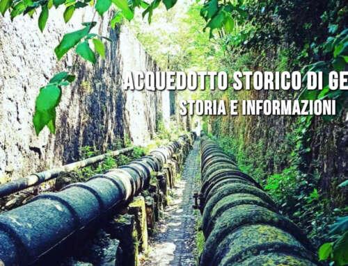 L'Acquedotto Storico di Genova! 🏴 Informazioni e storia!