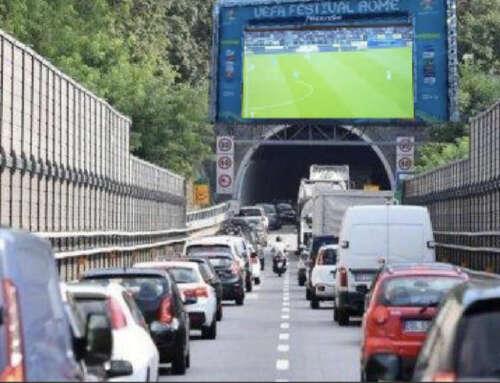 Autostrade: Protez.Civ organizza maxischermo per vedere l'Italia in coda