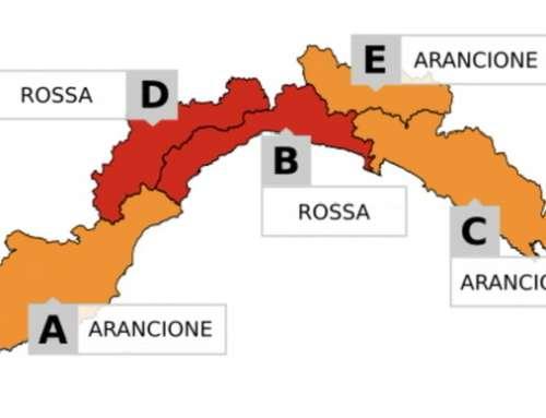 ⚠️ PROLUNGATA ALLERTA METEO ROSSA ⚠️ Info & Orari