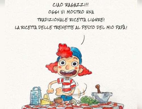 """La ricetta delle """"Trenette al Pesto del mio Papà"""" – by Disney!"""